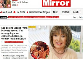 Kellie Maloney: coming out legendy boksu